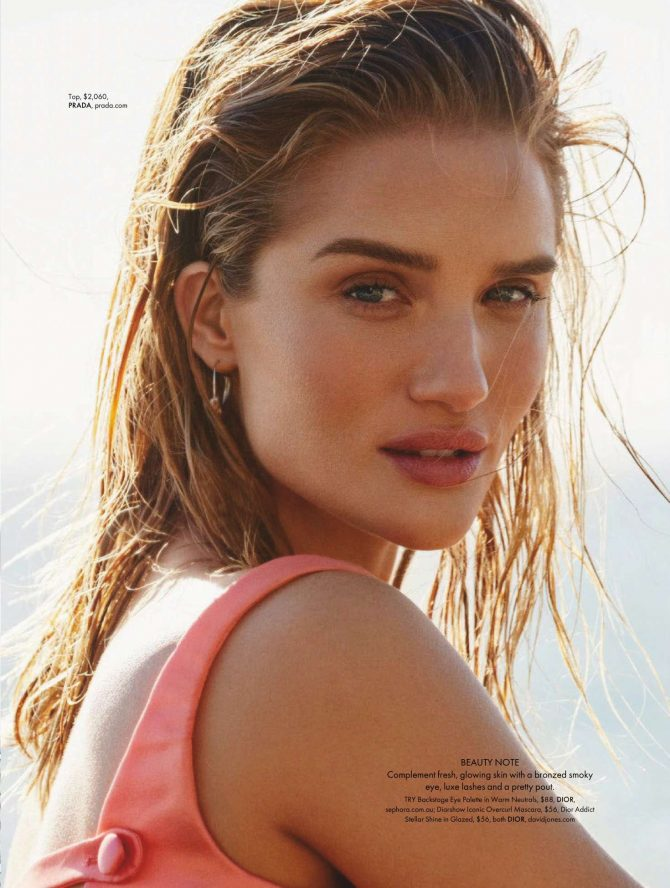 Rosie Huntington Whiteley: Elle Australia 2019 -12