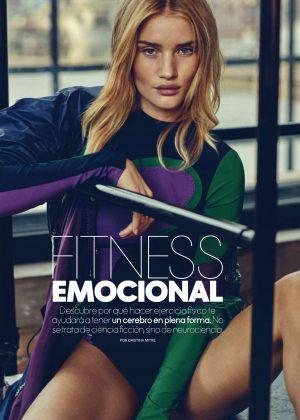 Rosie Huntington Whiteley - Elle Spain Magazine (February 2018)