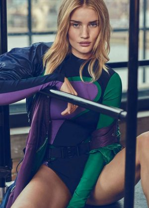 Rosie Huntington Whiteley - Elle UK Magazine (January 2017)