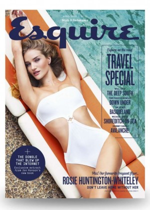 Rosie Huntington Whiteley - Esquire UK Magazine (April 2015)