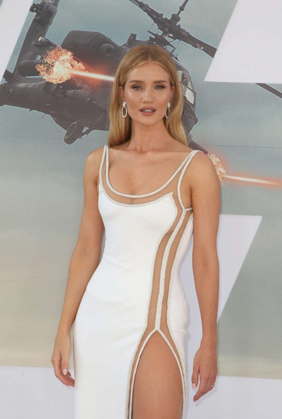 Rosie Huntington Whiteley - 'Fast & Furious Presents: Hobbs & Shaw' Premiere in Hollywood