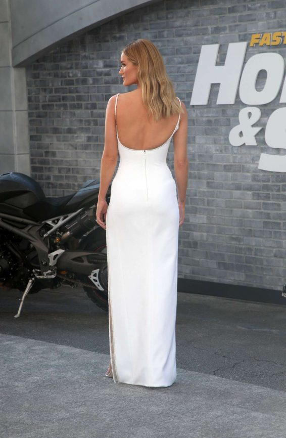 Rosie Huntington Whiteley 2019 : Rosie Huntington Whiteley – Fast and Furious Presents: Hobbs and Shaw Premiere-15