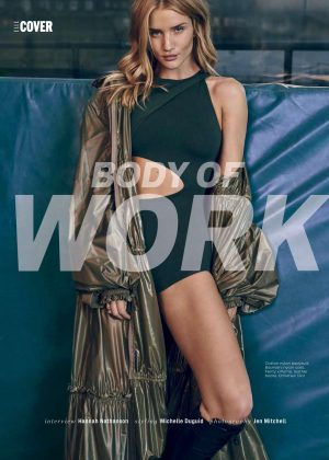 Rosie Huntington Whiteley for Elle South Africa (May 2017)