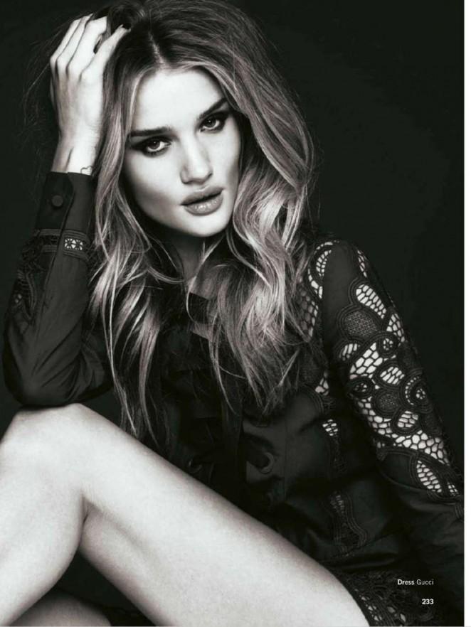 Rosie Huntington-Whiteley - Glamour UK Magazine (March 2015)