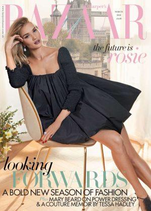Rosie Huntington Whiteley - Harpers Bazaar UK (March 2018)
