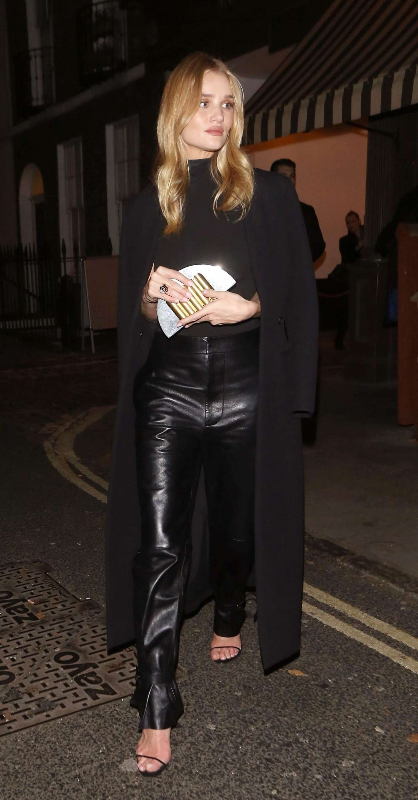 Rosie Huntington Whiteley 2019 : Rosie Huntington Whiteley in Leather Pants-06