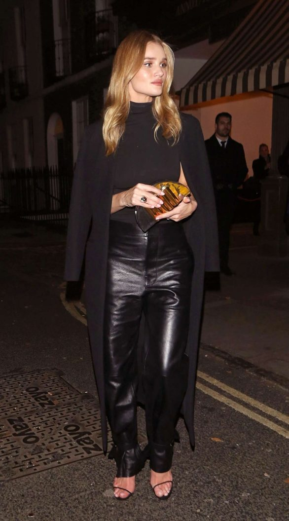 Rosie Huntington Whiteley 2019 : Rosie Huntington Whiteley in Leather Pants-12
