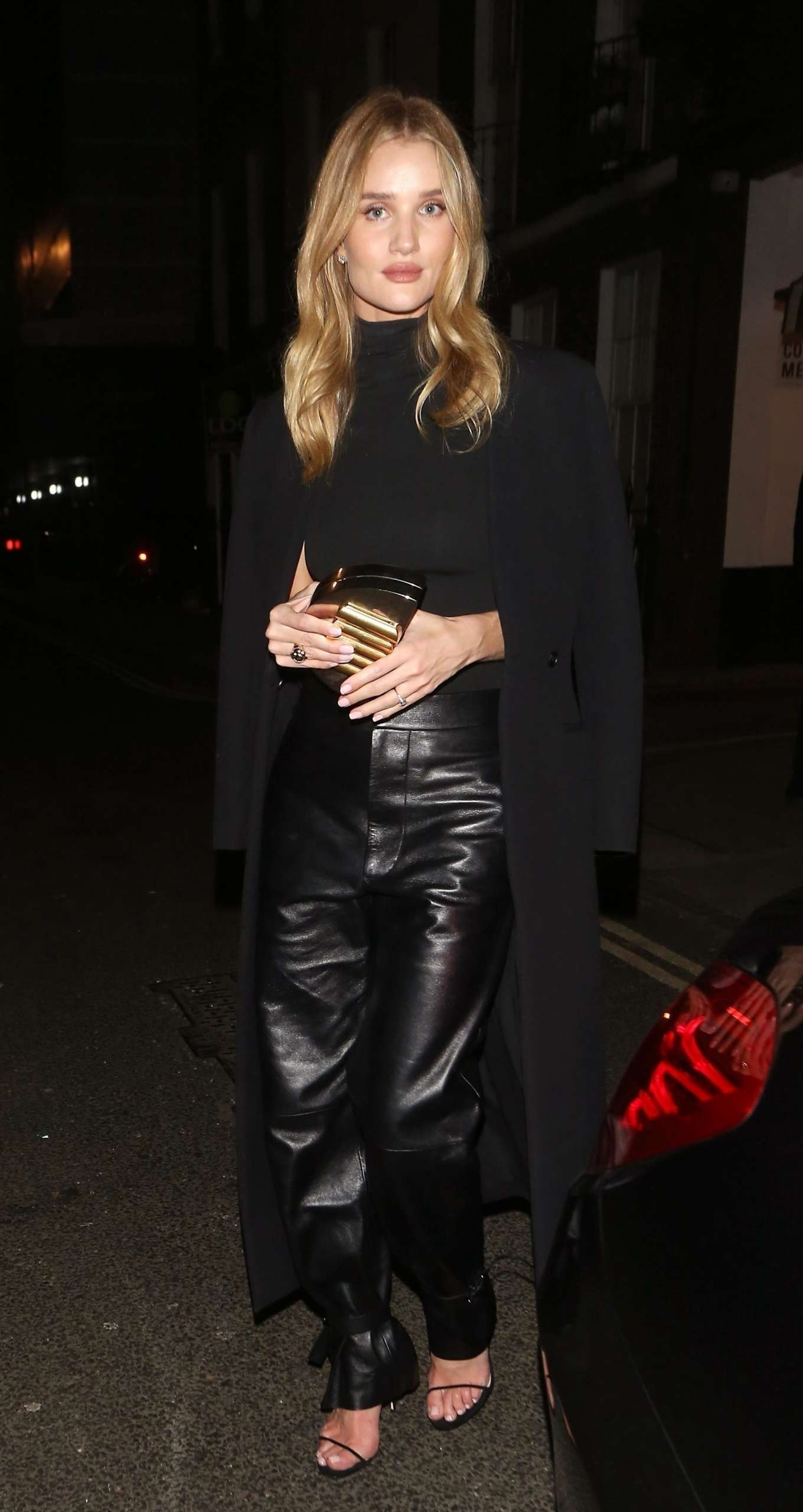 Rosie Huntington Whiteley 2019 : Rosie Huntington Whiteley in Leather Pants-13