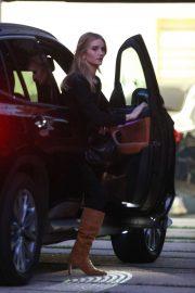 Rosie Huntington-Whiteley leaves car in Beverly Hills