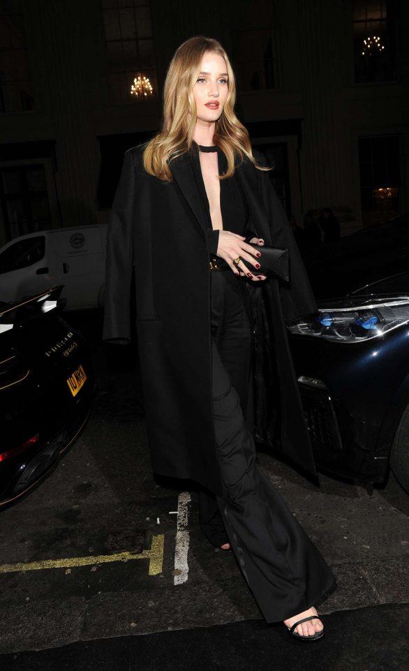 Rosie Huntington Whiteley - Leaves Harvey Nichols department store in London