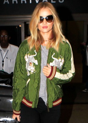 Rosie Huntington Whiteley - Los Angeles International Airport