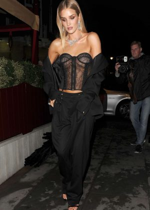 Rosie Huntington Whiteley - Love Magazine Party at Lou Lou's in London