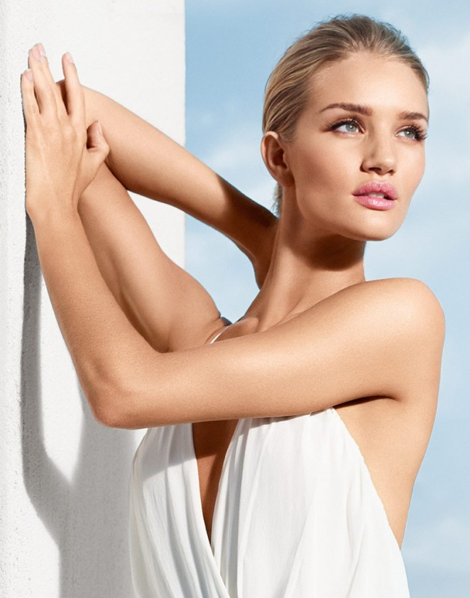 Rosie Huntington-Whiteley - Moroccanoil Campaign 2015