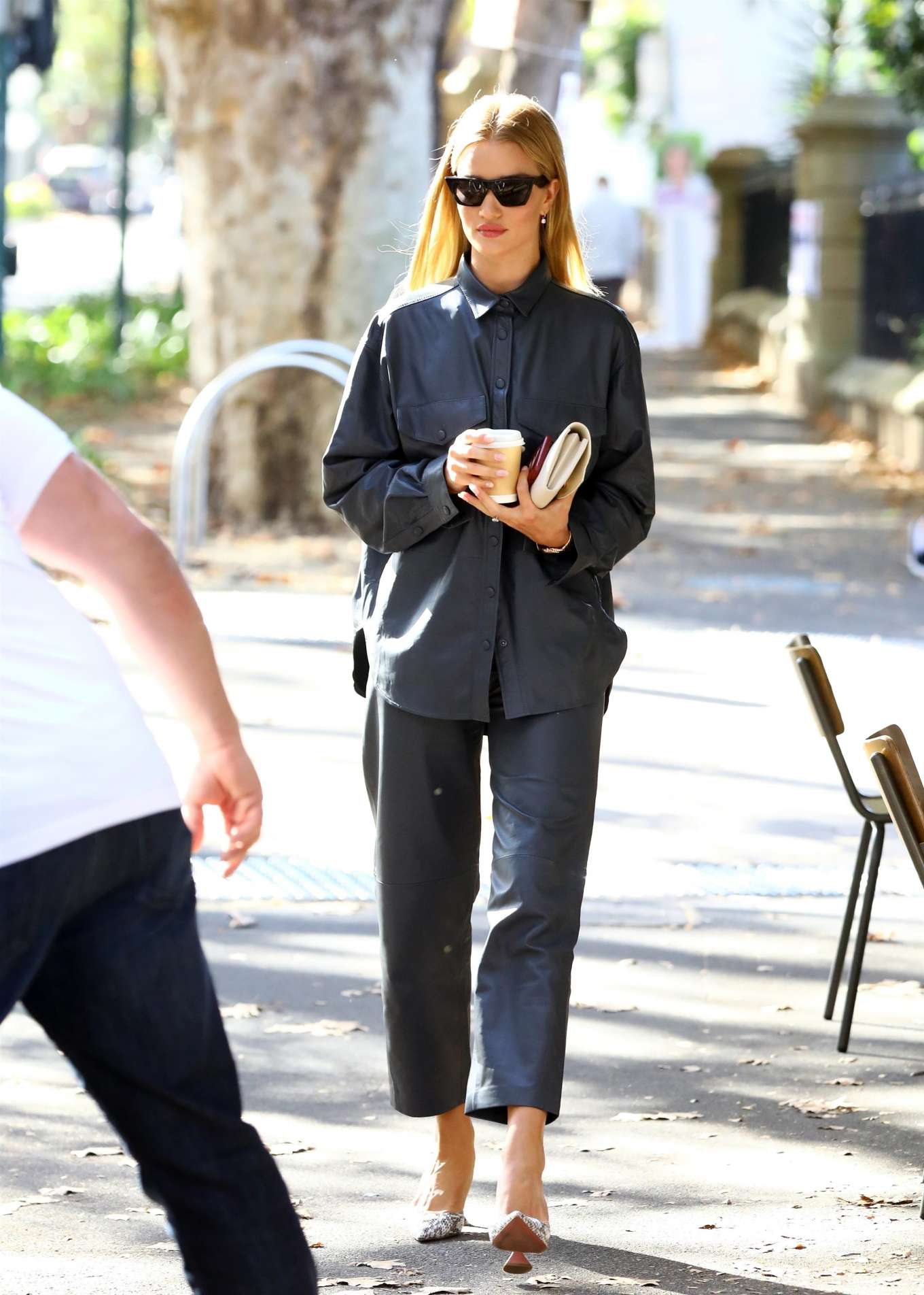 Rosie Huntington Whiteley 2019 : Rosie Huntington Whiteley: Out for coffee in Surry Hills-02