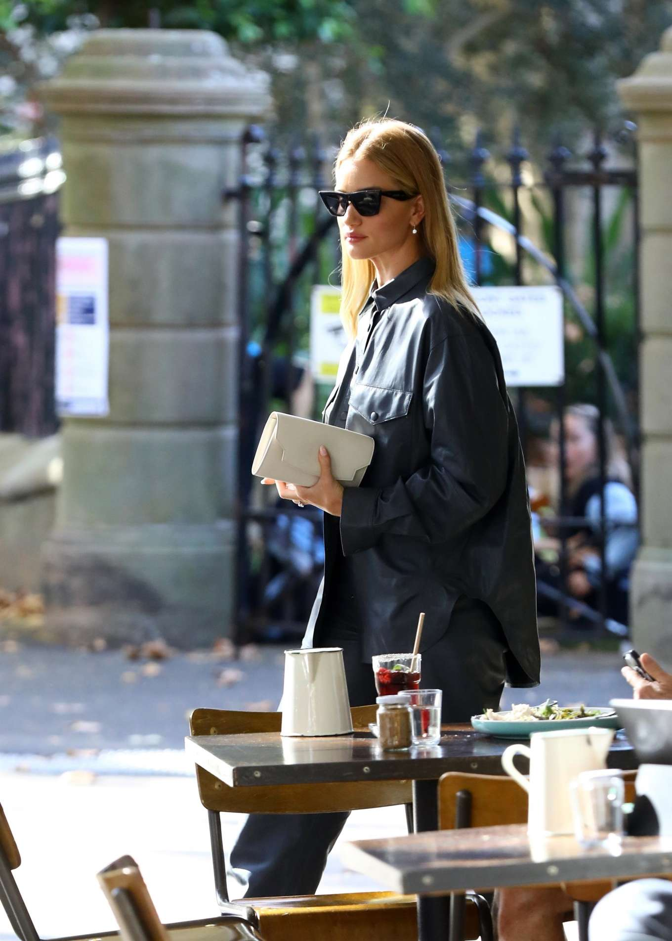 Rosie Huntington Whiteley 2019 : Rosie Huntington Whiteley: Out for coffee in Surry Hills-08