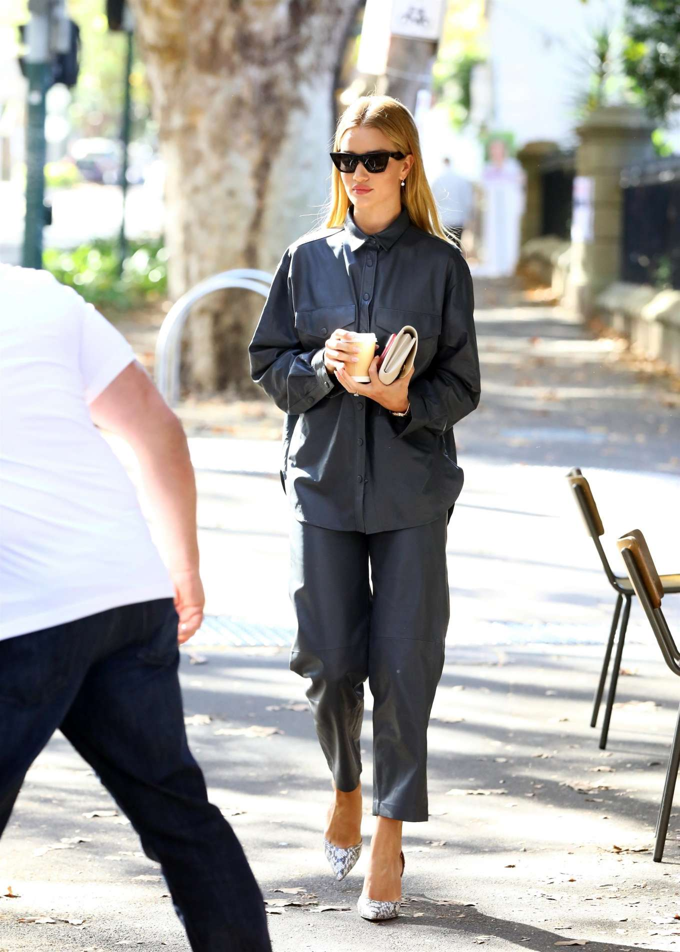 Rosie Huntington Whiteley 2019 : Rosie Huntington Whiteley: Out for coffee in Surry Hills-15