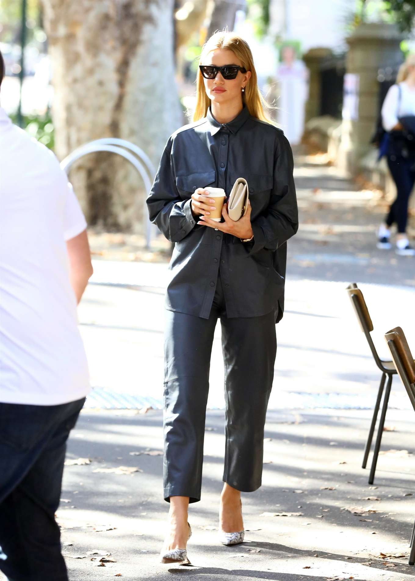 Rosie Huntington Whiteley 2019 : Rosie Huntington Whiteley: Out for coffee in Surry Hills-17