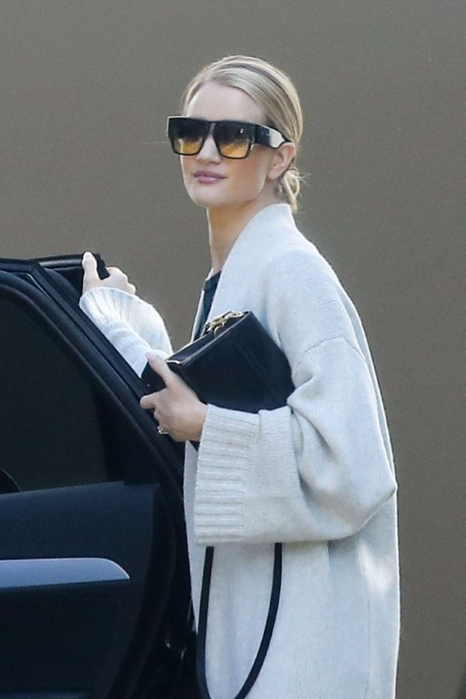 Rosie Huntington Whiteley - Out in Beverly Hills