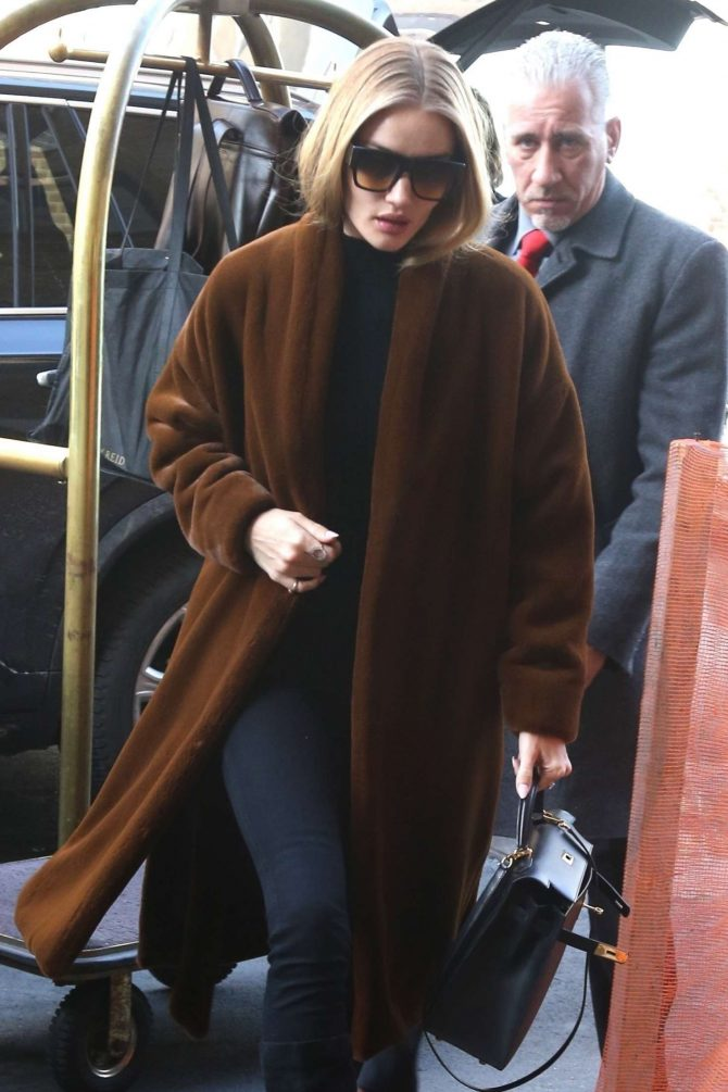 Rosie Huntington Whiteley - Out in New York