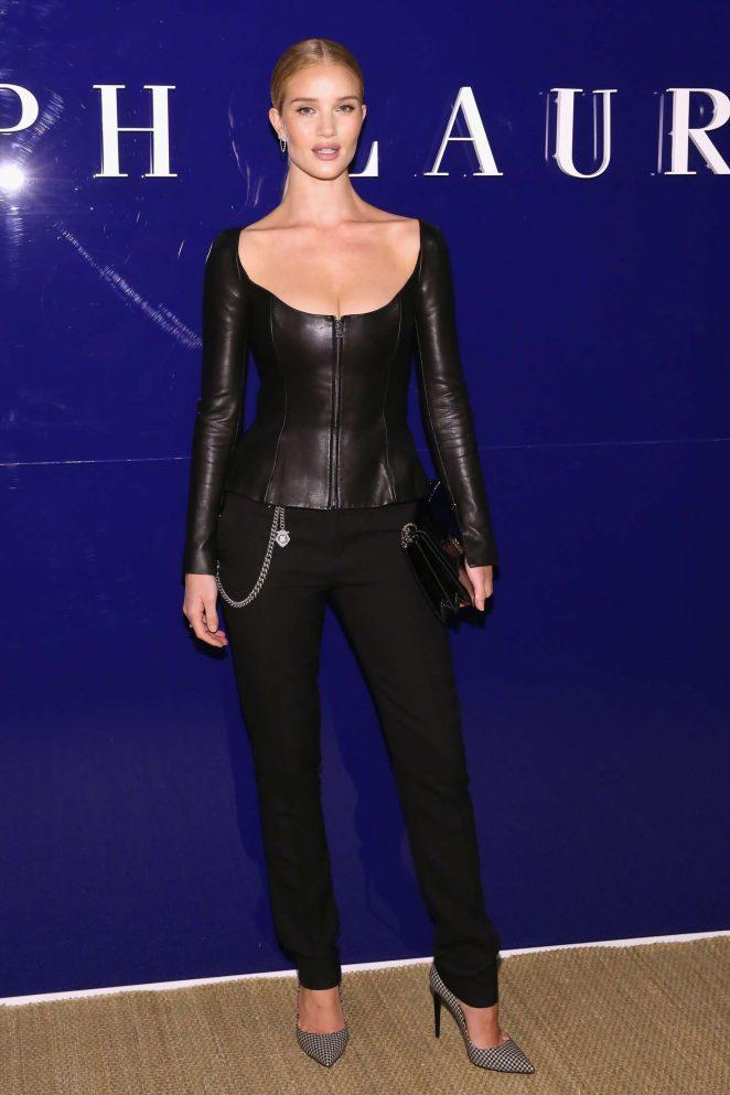Rosie Huntington Whiteley - Ralph Lauren Fashion Show 2018 in New York