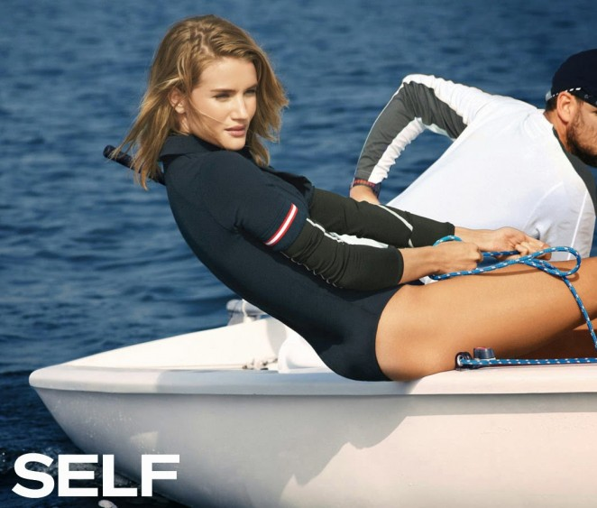 Rosie Huntington-Whiteley – Self Magazine (May 2015)