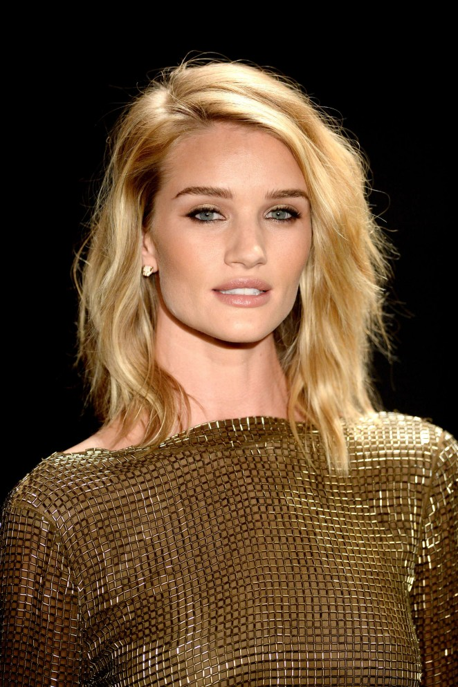 Rosie Huntington Whiteley: Tom Ford 2015 Womenswear Collection Presentation -16