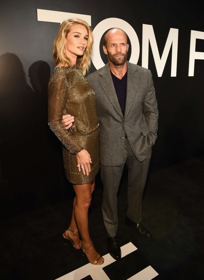 Rosie Huntington Whiteley: Tom Ford 2015 Womenswear Collection Presentation -17