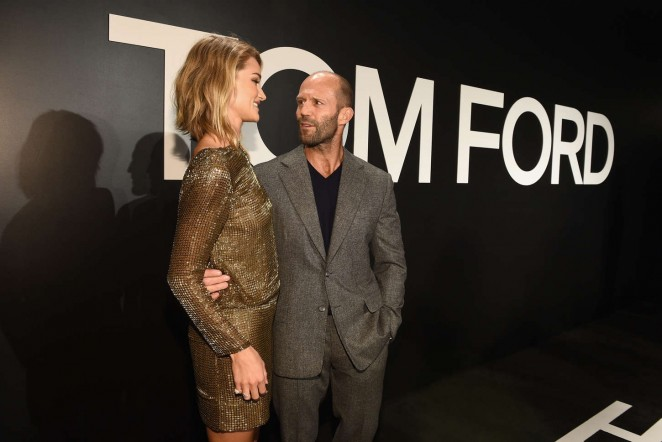 Rosie Huntington Whiteley: Tom Ford 2015 Womenswear Collection Presentation -18