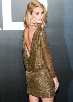 Rosie Huntington Whiteley - Tom Ford 2015 Womenswear Collection Presentation in LA