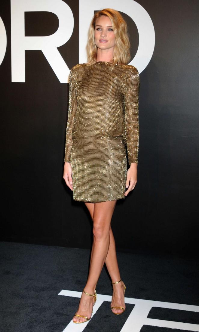 Rosie Huntington Whiteley: Tom Ford 2015 Womenswear Collection Presentation -28