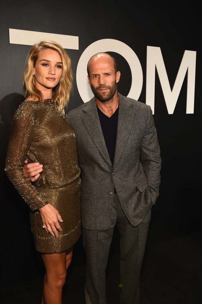 Rosie Huntington Whiteley: Tom Ford 2015 Womenswear Collection Presentation -42