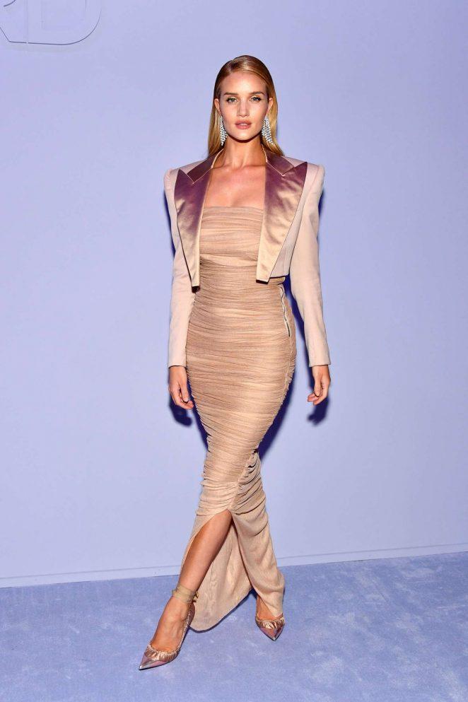 Rosie Huntington Whiteley - Tom Ford Fashion Show FW 2018 in NY