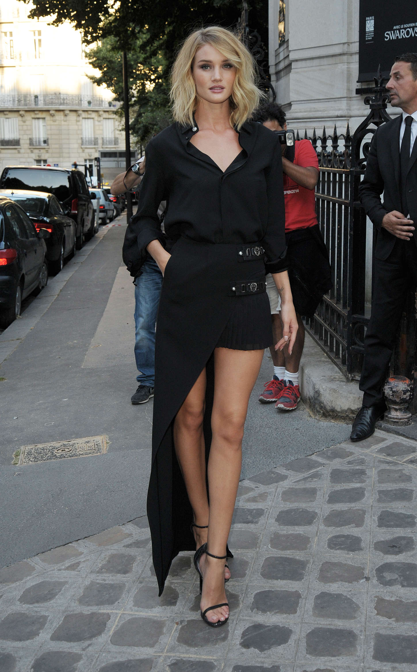 Rosie Huntington Whiteley - Vogue Party 2015 in Paris