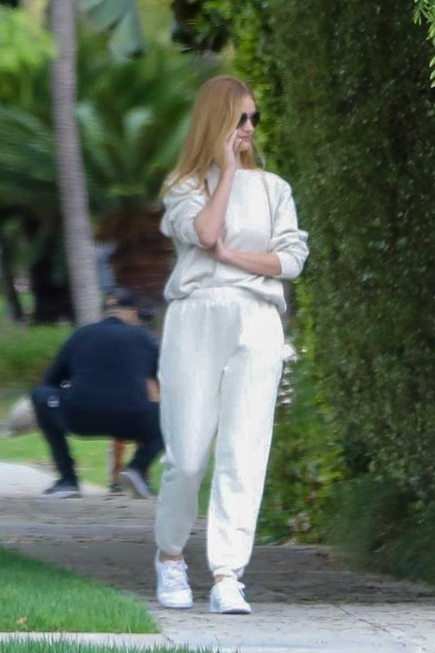 Rosie Huntington Whiteley - Walking around in Beverly Hills