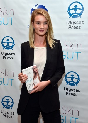 Rosie Huntington Whiteley - 'Younger Skin Starts In The Gut' Book Launch Party in LA