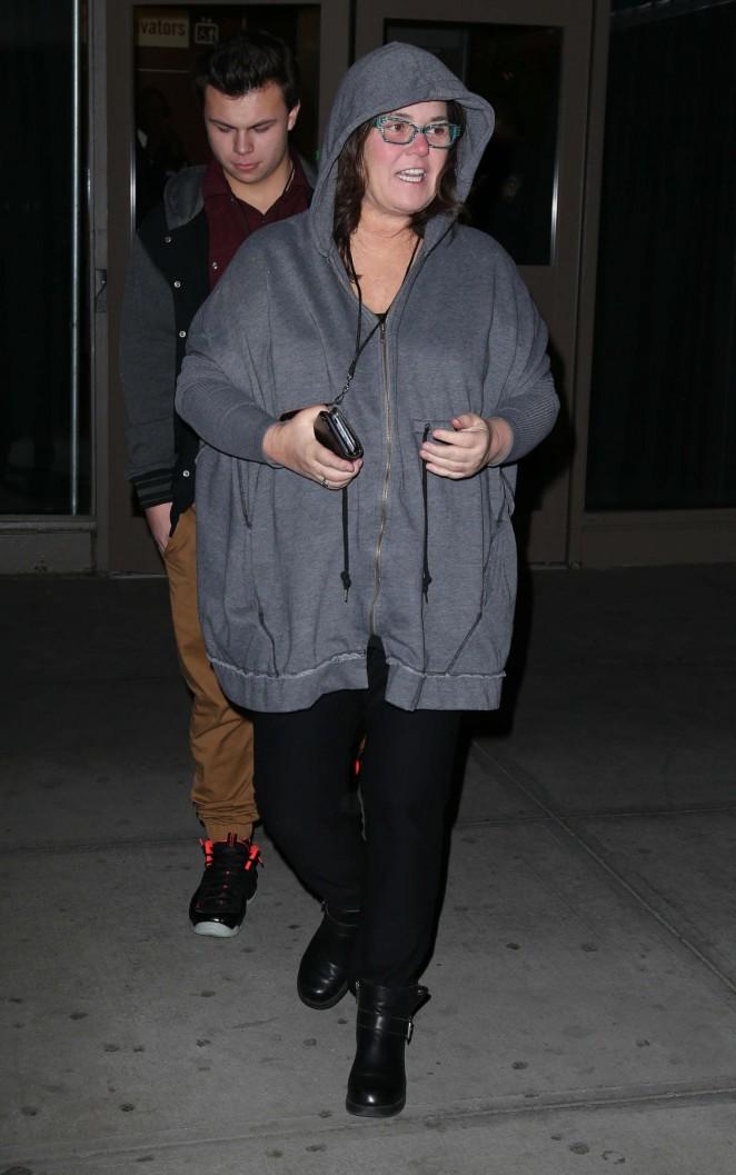 Rosie O'Donnell - Yeezy Season 3 Fashion Show in New York