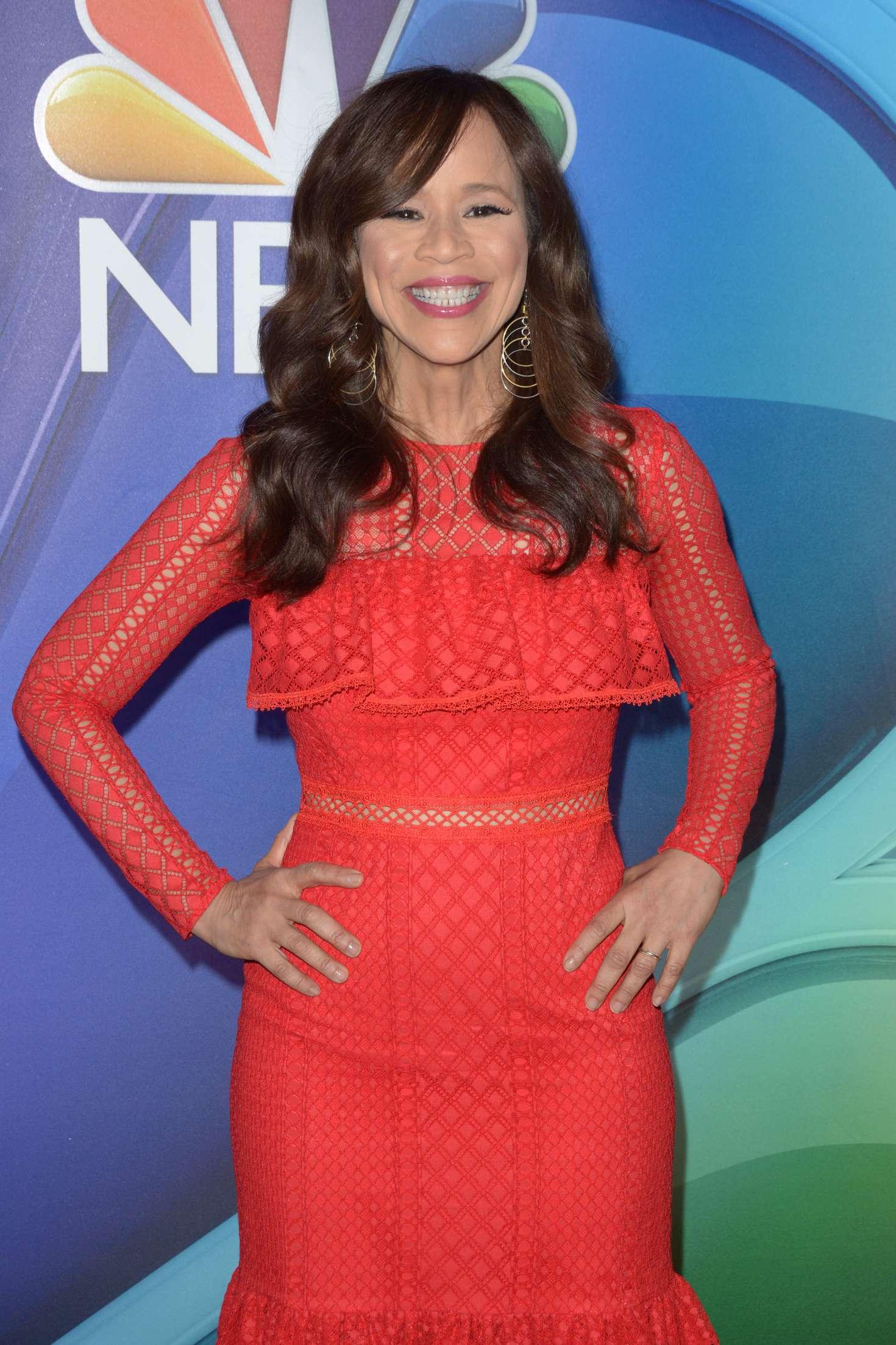 Rosie Perez - 2018 NBC NY Midseason Press Junket in NYC