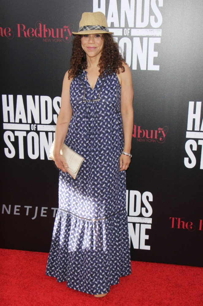 Rosie Perez - 'Hands of Stone' Premiere in New York
