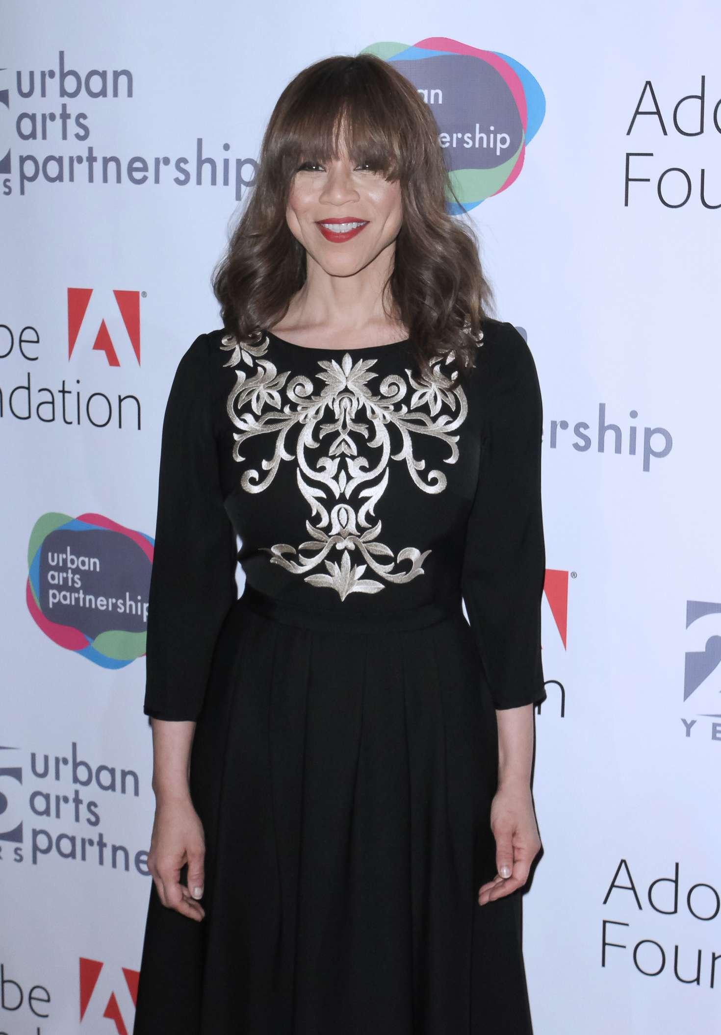 Rosie Perez - Urban Arts Partnership 25th Anniversary Benefit in New York