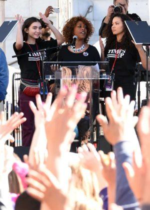 Rowan Blanchard - 2018 Women's March in Los Angeles