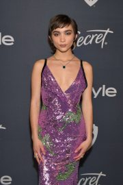 Rowan Blanchard - 2020 InStyle and Warner Bros Golden Globes Party in Beverly Hills