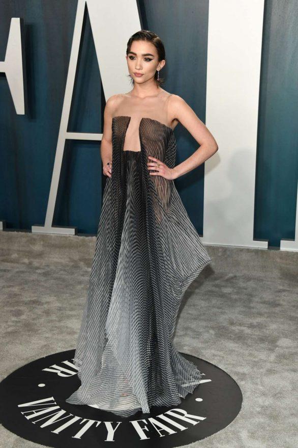 Rowan Blanchard - 2020 Vanity Fair Oscar Party in Beverly Hills