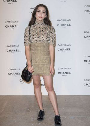 Rowan Blanchard - Chanel's new perfume 'Gabrielle' Launch Party in Paris