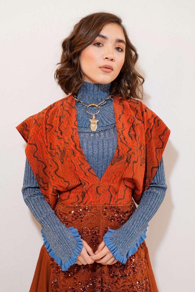 Rowan Blanchard - Chloe Fashion Show in Paris