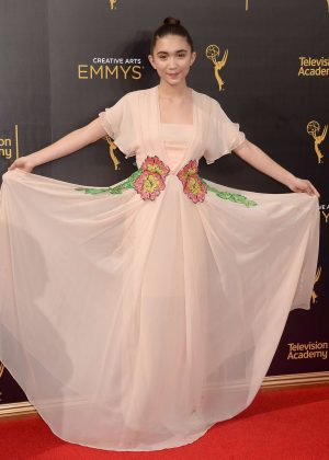 Rowan Blanchard - Creative Arts Emmy Awards 2016 in Los Angeles