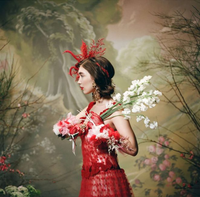Rowan Blanchard - For Rodarte - Fall 2018 Ready-to-wear Collection