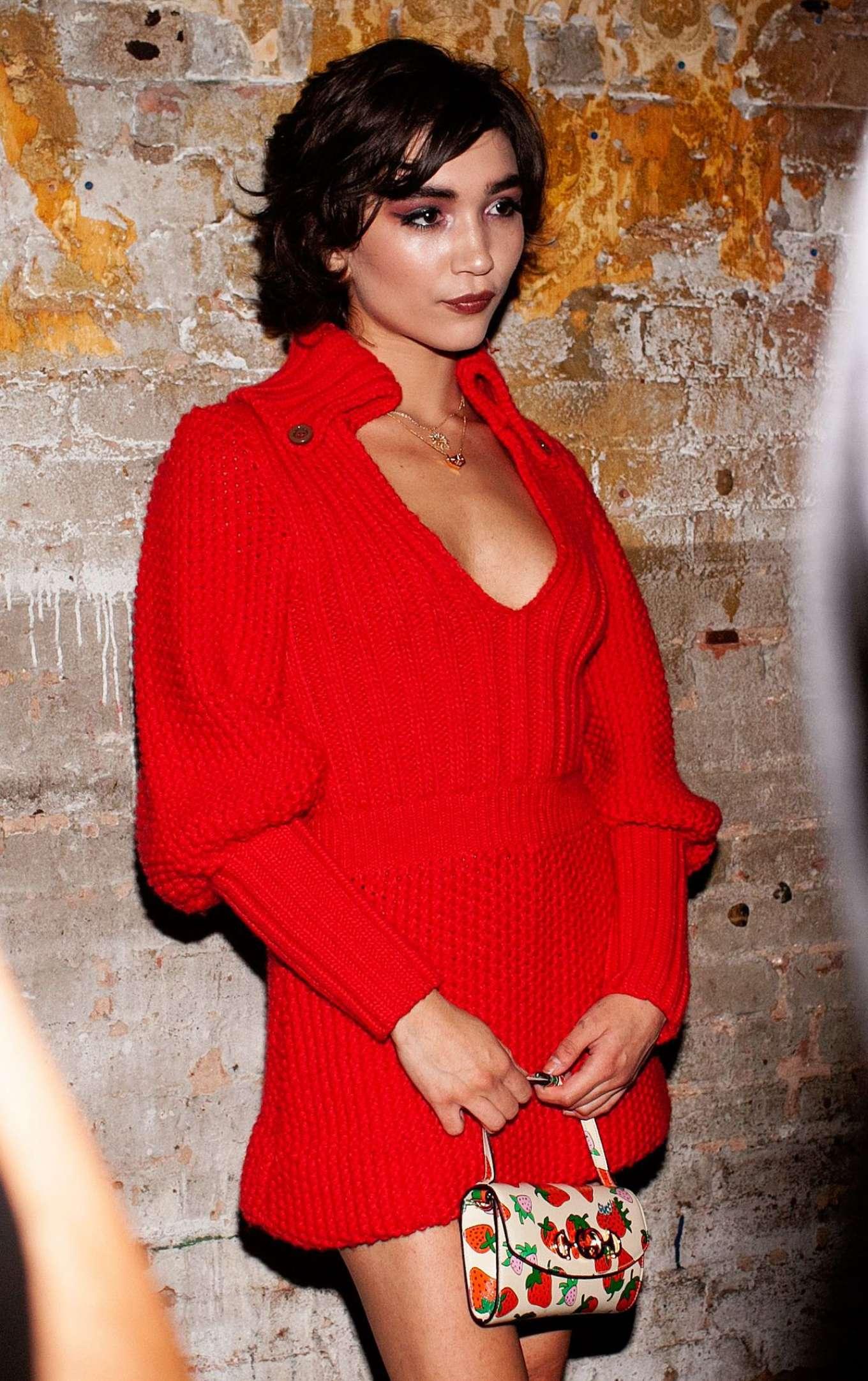 Rowan Blanchard - Gucci and Saks NYFW Party in NYC