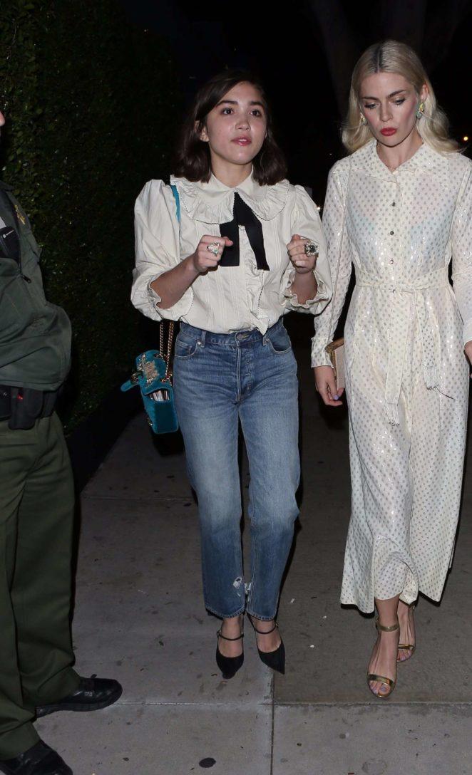 Rowan Blanchard: Gucci Decor Launch -06