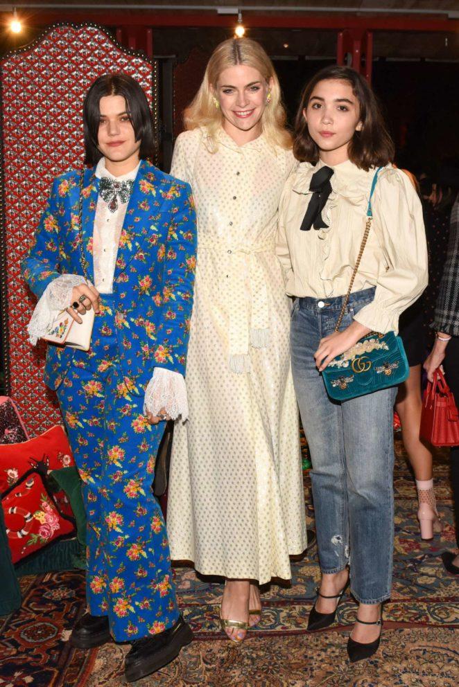 Rowan Blanchard: Gucci Decor Launch -07