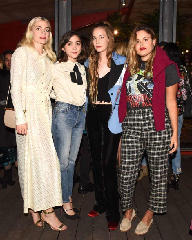 Rowan Blanchard: Gucci Decor Launch -09
